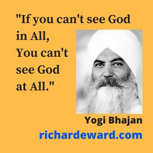 Yogi Bhajan founder of 3HO Foundation. Introduced Kundalini yoga to the west.